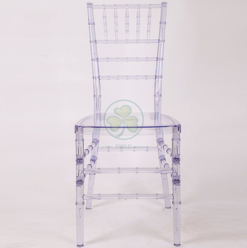 Factory Wholesale Stackable Clear PC Resin Chiavari Chair for Parities and Events SL-R1953SCRC