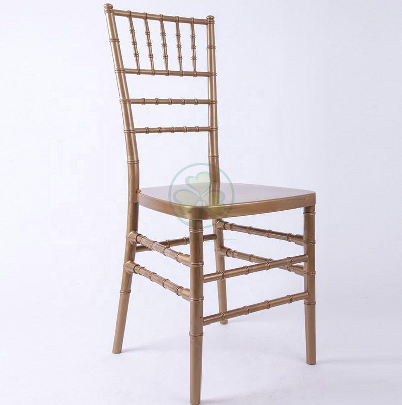 High Quality Wedding Resin Tiffany Chair SL-R1955WRTC