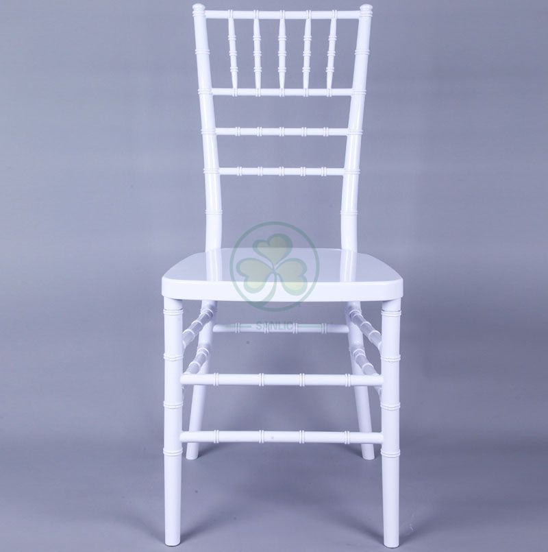 Most Popular White Resin Chiavari Chair for Events and Weddings SL-R1952PRCC