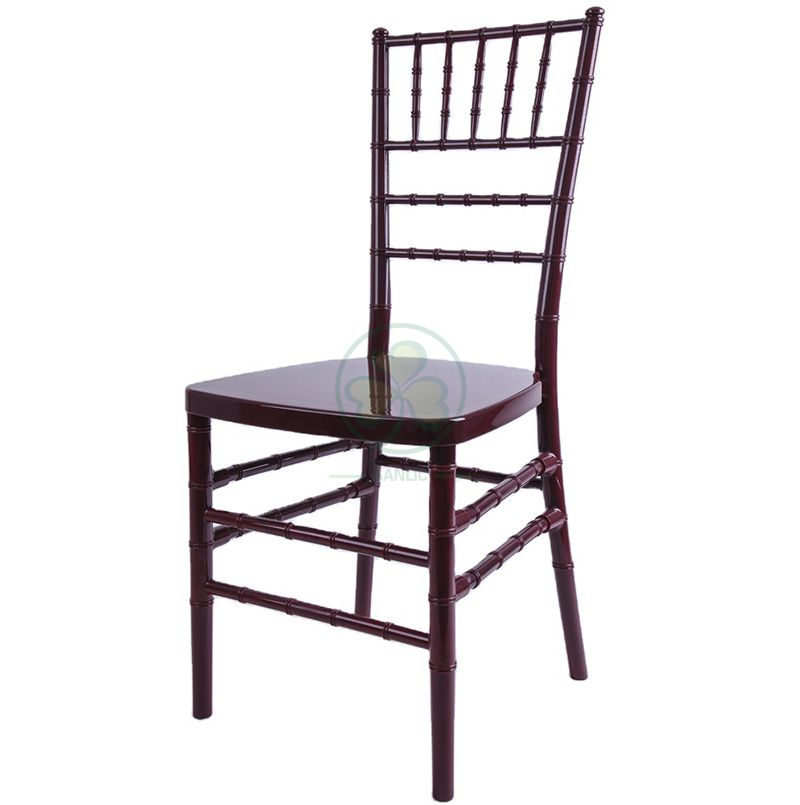 Wholesale Strong Durable Resin Chiavari Chair for Banquets Parties  SL-R1962SRCC