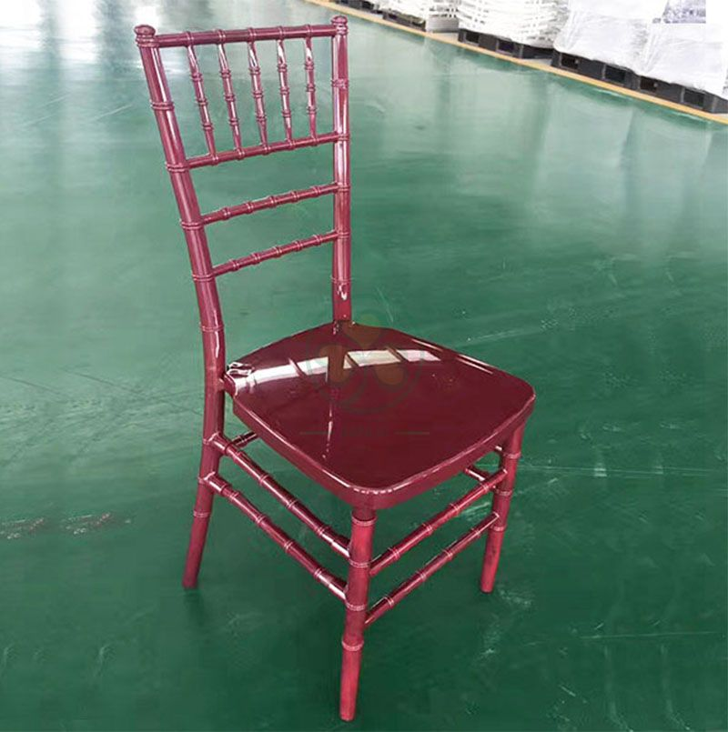 Bespoke Resin Tiffany Chair for Indoor or Outdoor Banquets Weddings and Parties  SL-R1965BRTC