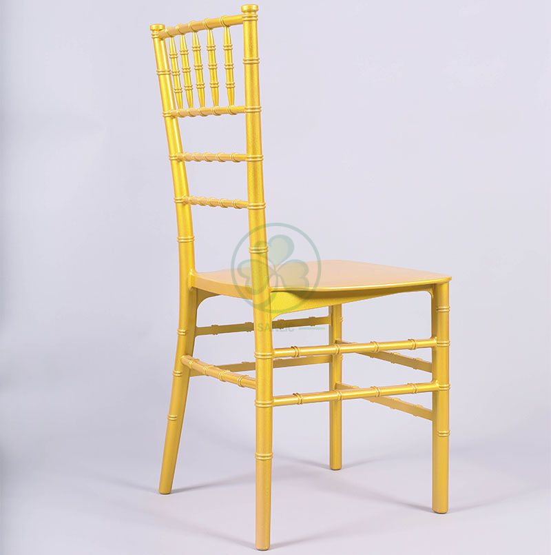 Cheap New Design Monoblock Resin Chiavari Chair for Hotels Banquets and Catering Services SL-R1972NMRC