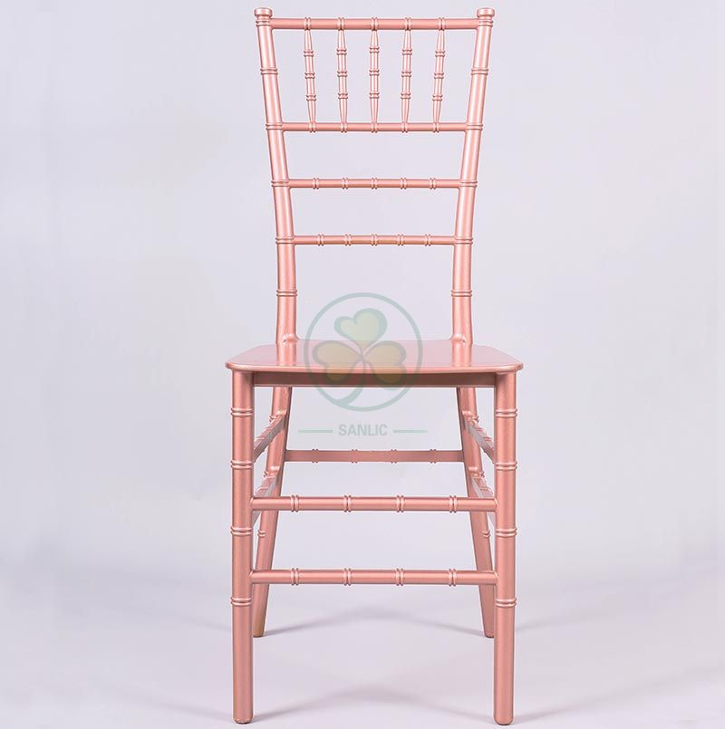 Very Popular Stackable Monoblock Resin Tiffany Chair for Weddings Banquets and Events SL-R1973MRTC