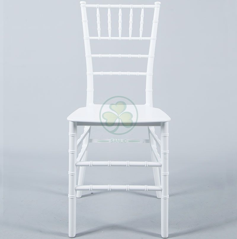 Cheap and High Qulality Monoblock Plastic Chiavari Chair for Indoor or Outdoor Social Events SL-R1974MPCC