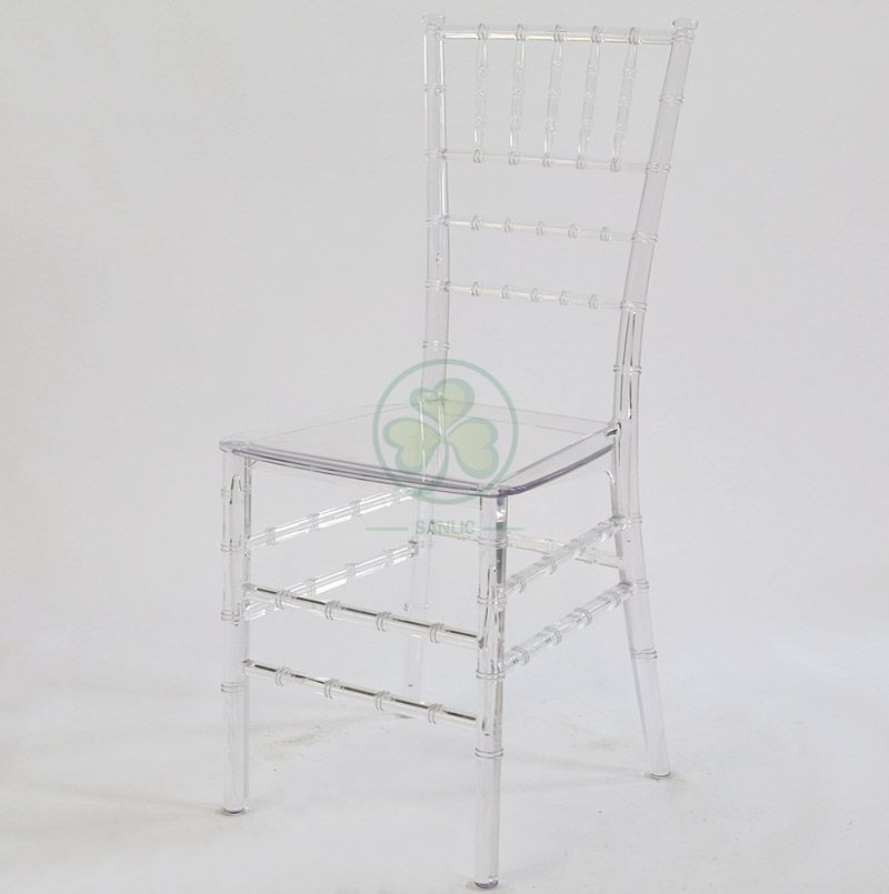 Factory Wholesale Resin Monoblock Chiavari Chair for Various Occasions SL-R1975RMCC
