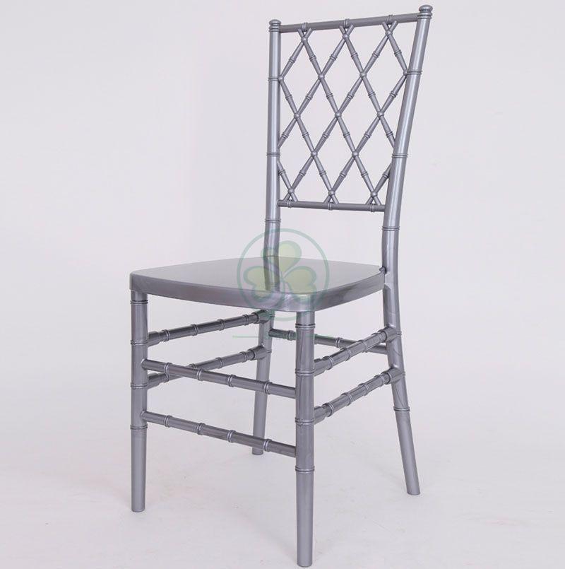Stacking Chiavari Diamond Back Ballroom Resin Chair for Different Celebrations SL-R1997SDRC