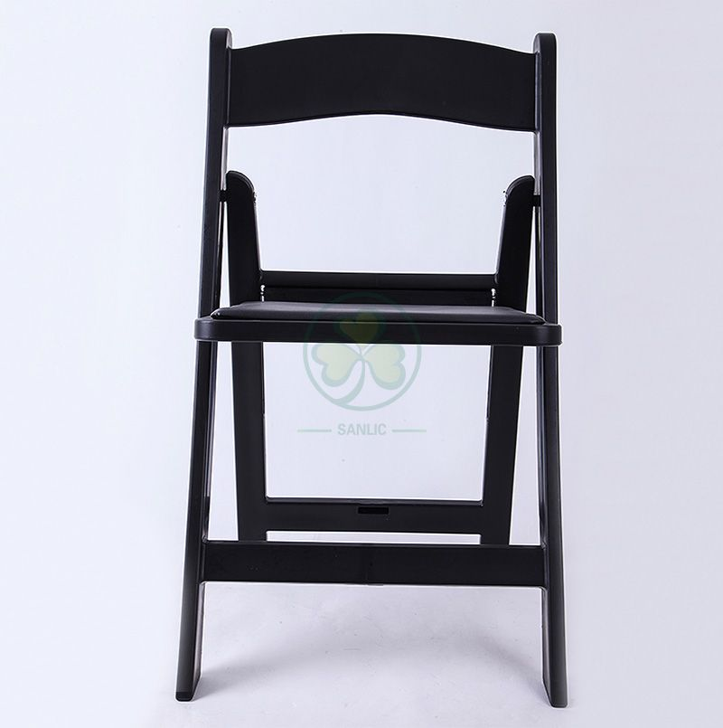 Wholesale Black Plastic Folding Camping Chair for Various Occasions SL-R2000BRFC