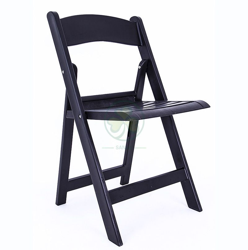 Wholesale Slatted Resin Folding Chair for Different Occasions SL-R2003BRFC