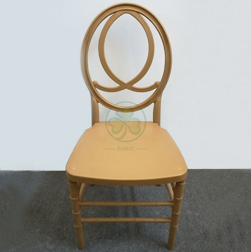 Popular Designed Plastic Resin Phoenix Infinity Chairs for Weddings Events and Parties SL-R2018GRPC