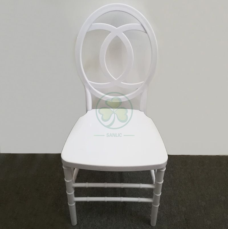 Wedding PC Resin Phoenix Channel Chair in White for Outdoor or Indoor Social Events SL-R2026WPPC