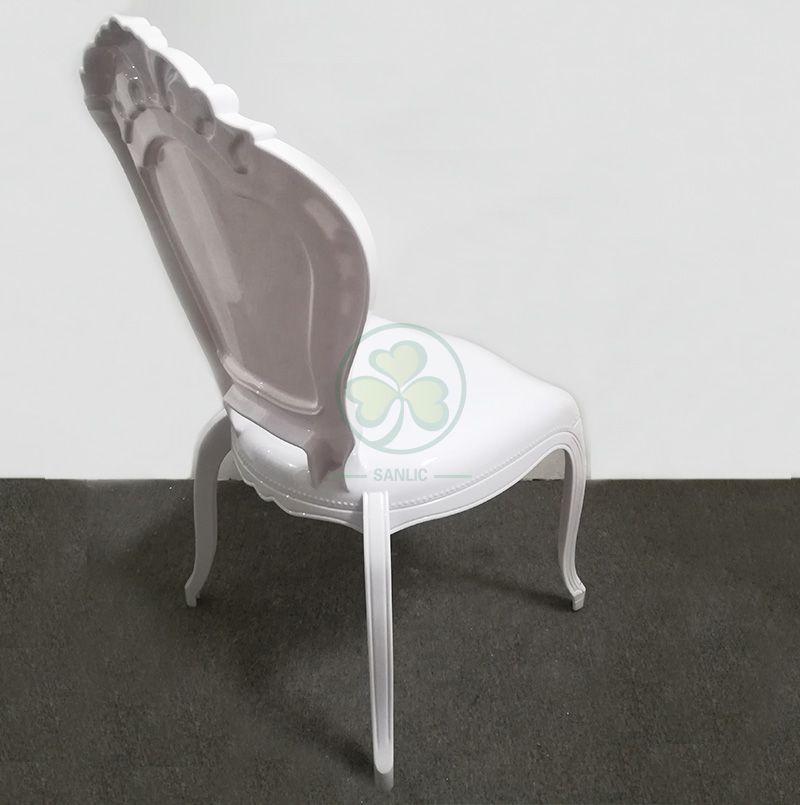 Wholesale Modern Resin Princess Bella Chair Wedding Plastic White Bella Epoque Event Chairs SL-R2027WRBC