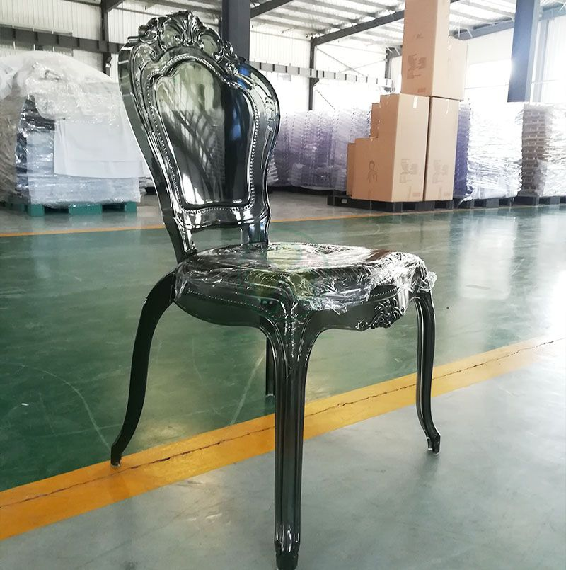 Stackable High Quality PC Resin Bella Chair for Dining Halls or Hotels Banquets SL-R2031DGBC