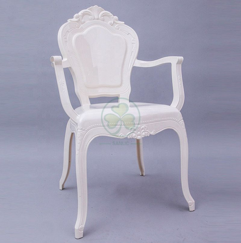 Wholesale Popular White Resin Belle Epoque Chair for Weddings and Events SL-R2033RBAC