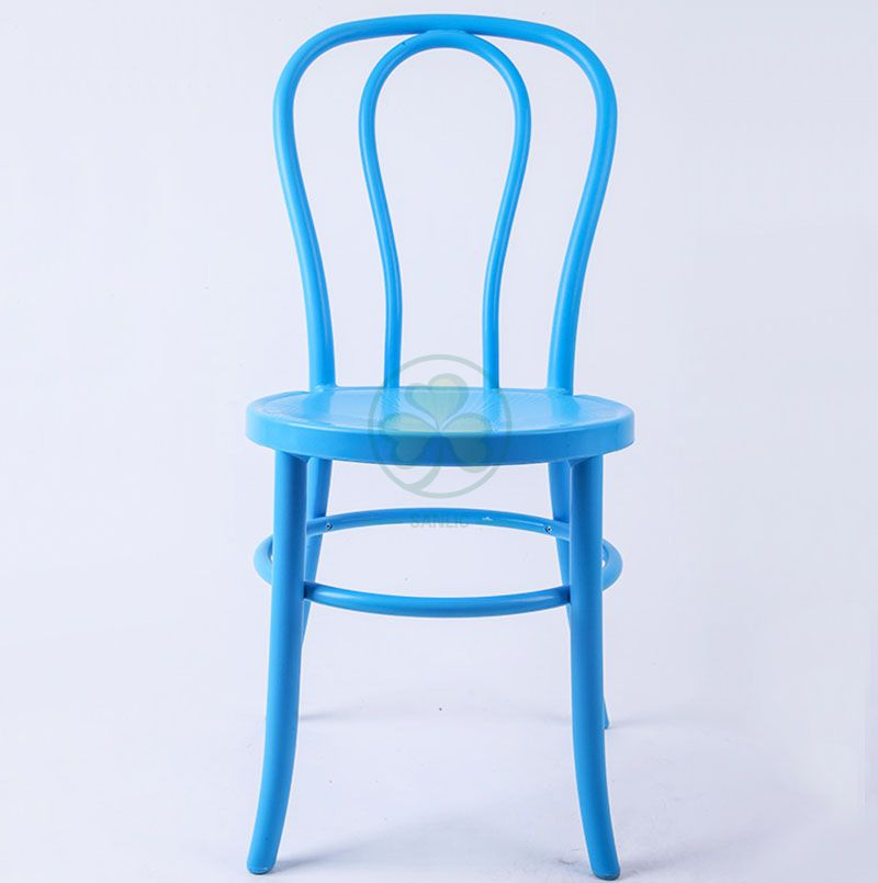 Wholesale High Quality PP Resin Thonet Chair for Indoor or Outdoor Events in Blue SL-R2045SRTC