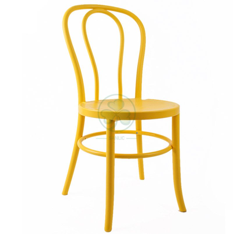Factory Wholesale Plastic Thonet Dining Chair for Hotels and Resturant SL-R2048YPTC