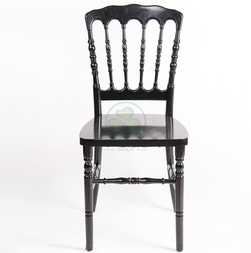 Hot Sale Stackable PC Plastic Napoleon Event Chairs for Indoor or Outdoor Parties and Banquets SL-R2053BRNC