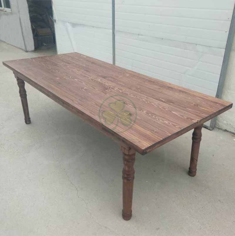 French Country Style Antique Farmhouse Table for Various Outdoor Parties and Events SL-T2111AFHT