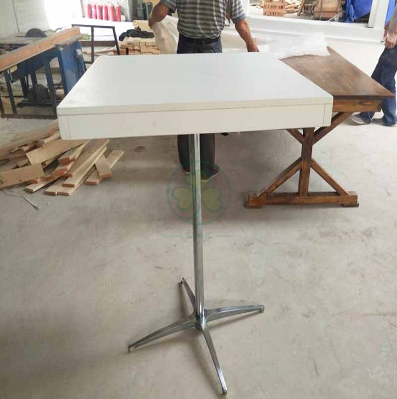 Factory Direct Rustico Solid Wood Top Counter Height Table SL-T2132RCHT
