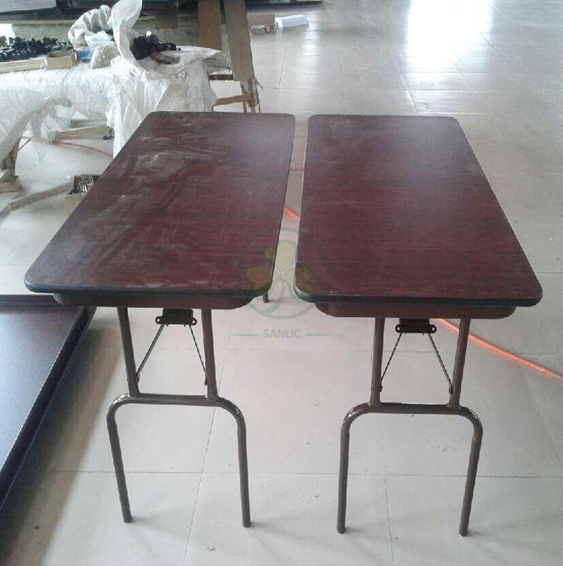 Factory Direct 48''X24'' Melamine Laminate Rectangular Folding Table SL-T2136MLFT