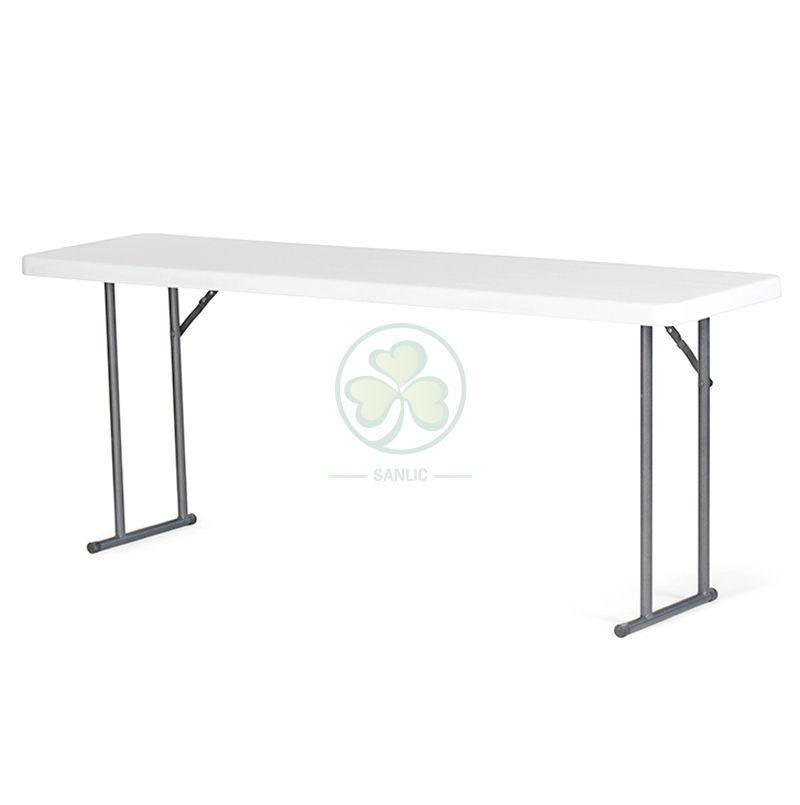 Wholesale 6ft Granite White Folding Plastic Conference Table SL-T2148PRFT