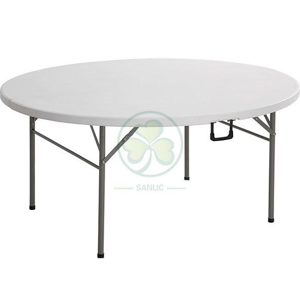 Popular 5ft Round Fold-In-Half Banquet Table SL-T2168RFIT