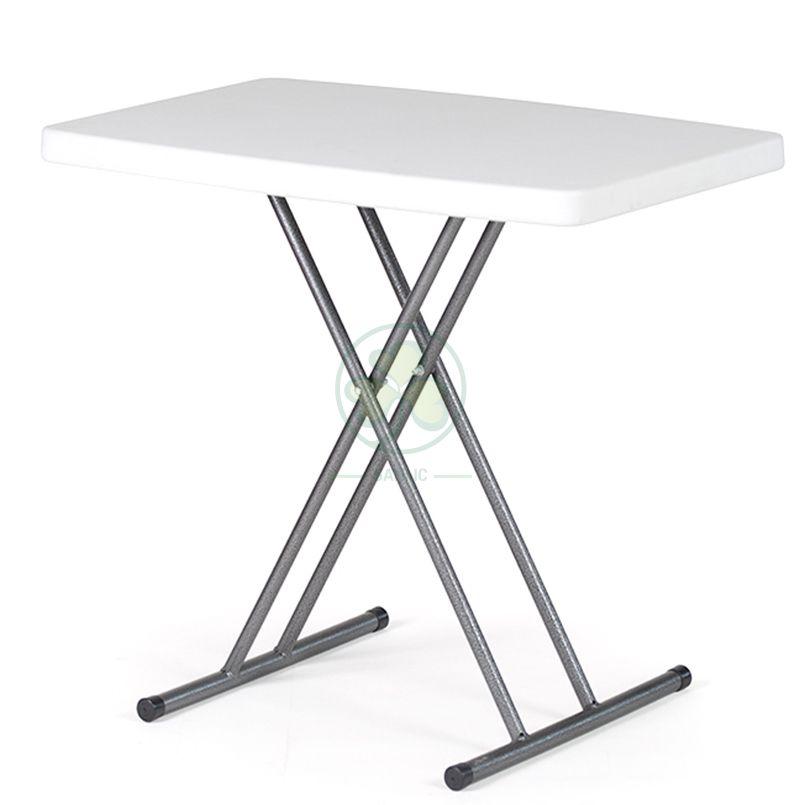 Popular Small Personal Adjustable Height Folding Table SL-T2170SAHT