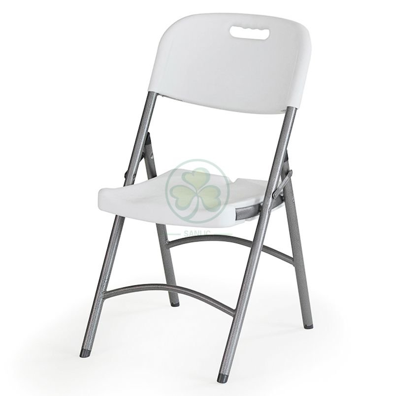 Wholesale Portable Blow-Molded Plastic Folding Chair (TUBE DIA25 A) for Banquets or School Functions   SL-T2175HPFC