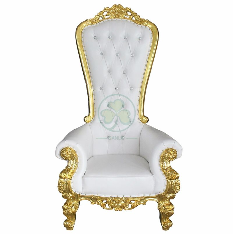 Wholesale King and Queen Throne Chairs for Weddings and Events  SL-OT2196KQTC