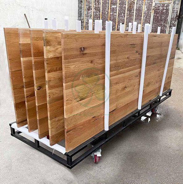 Custom Steel Storage Cart for Famehouse Table SL-M2223STSC