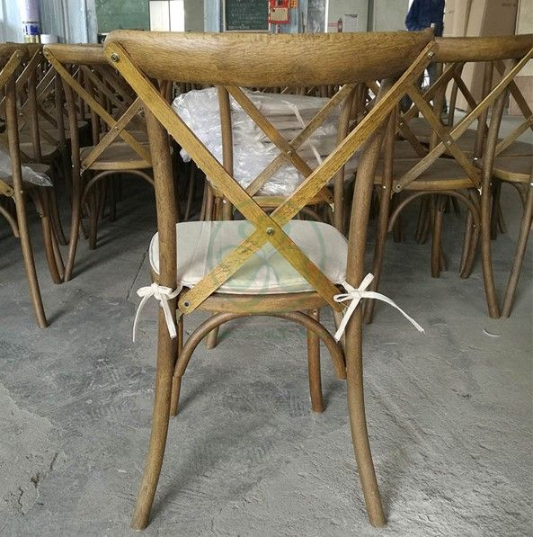 Wholesale Wooden Cross Back Chair / Cross Back Dining Chair