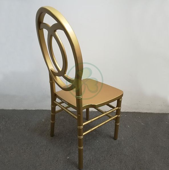 Wooden Phoenix Chair with Fish-Shaped Chair Back SL-W1842WPFB