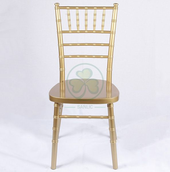 UK Style Gold Wooden Chiavari Chair for Event and Wedding Hire SL-W1862KWCC