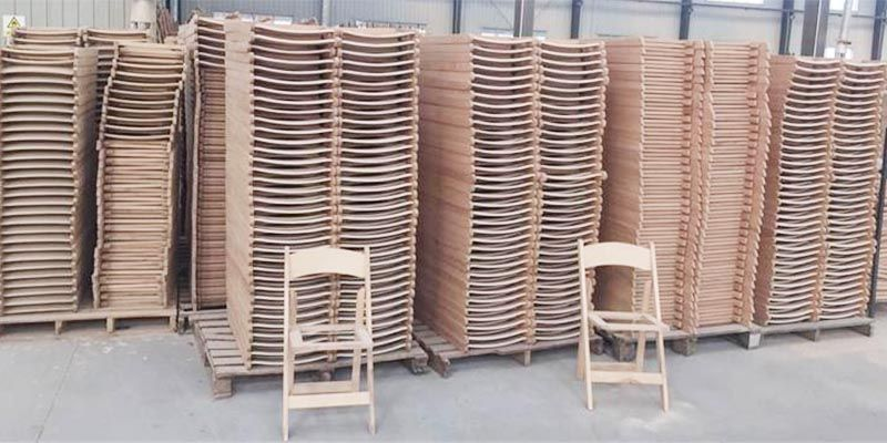 Factory Wholesale Wooden Folding Chair for Various Indoor of Outdoor Ceremonies SL-W1868WWFC