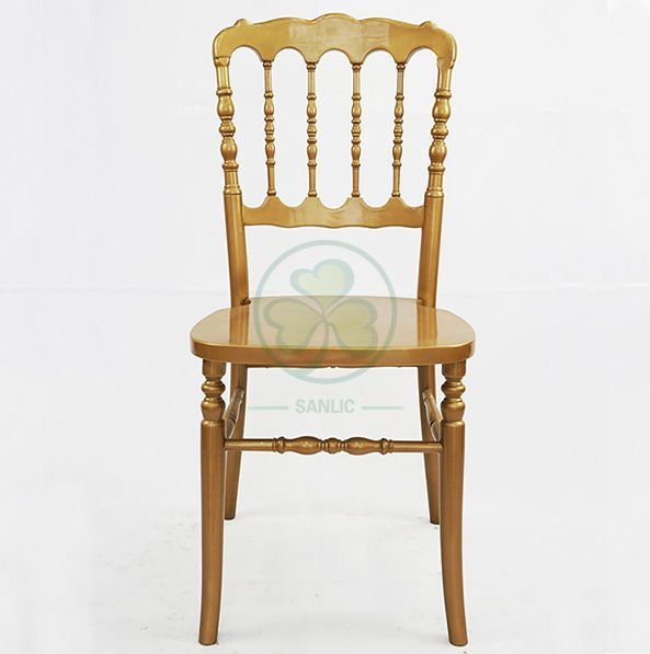 Classic Style Gold Banquet Wooden Napoleon Chair SL-W1905CGNC