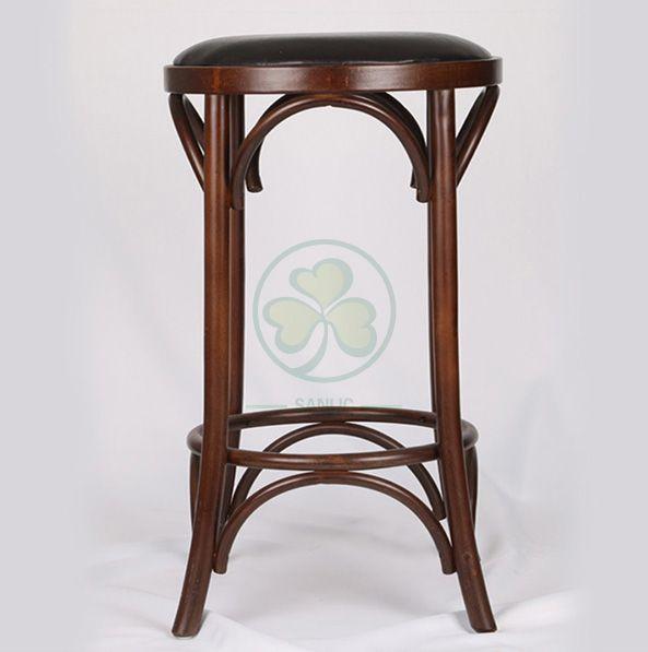 Popular Round Bentwood Dining Bar Stools SL-W1922BDBS