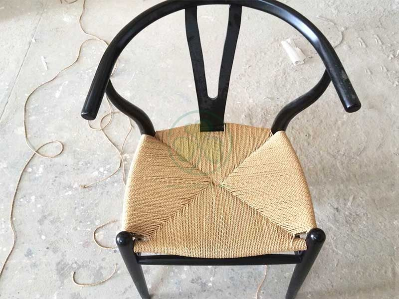 Modern Wooden Wishbone Dining Chair for Living Room Dining Room SL-W1935WWDC