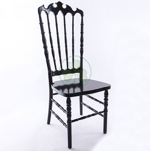 Wholesale Luxury Wooden Wedding Event Royal VIP High Back Chairs Type A SL-W1945WHBC