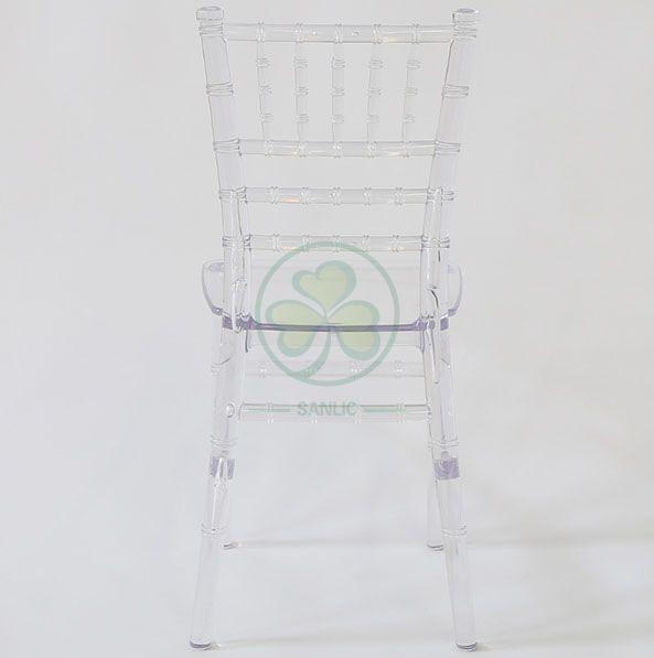Indoor or Outdoor Monoblock Kids Resin Chiavari Chair for Birthday Parties SL-R1984MKRC