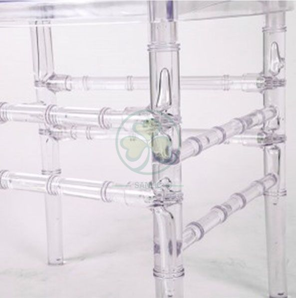 Wholesale Crystal Resin Diamond Chiavari Chair for Indoor and Outdoor Weddings and Events SL-R1993RDCC