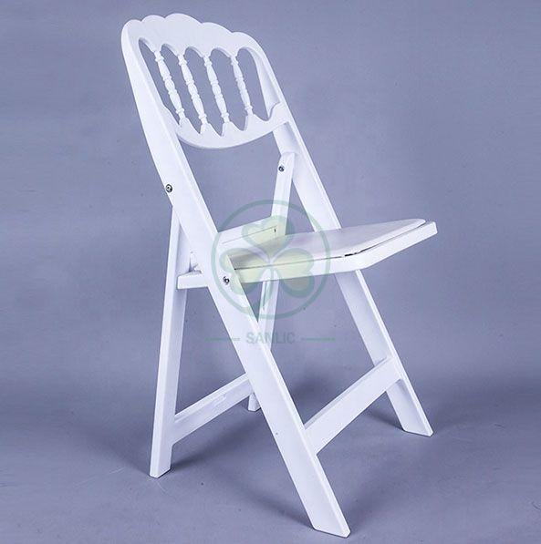 Resin Folding Napoleon Chair