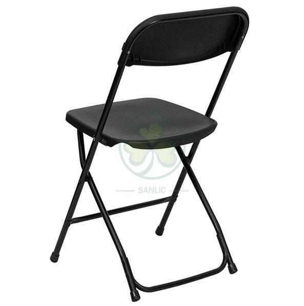 Wholesale High Quality Outdoor White Steel Leg Wedding Garden Event Folding Chair SL-R2007WPFC