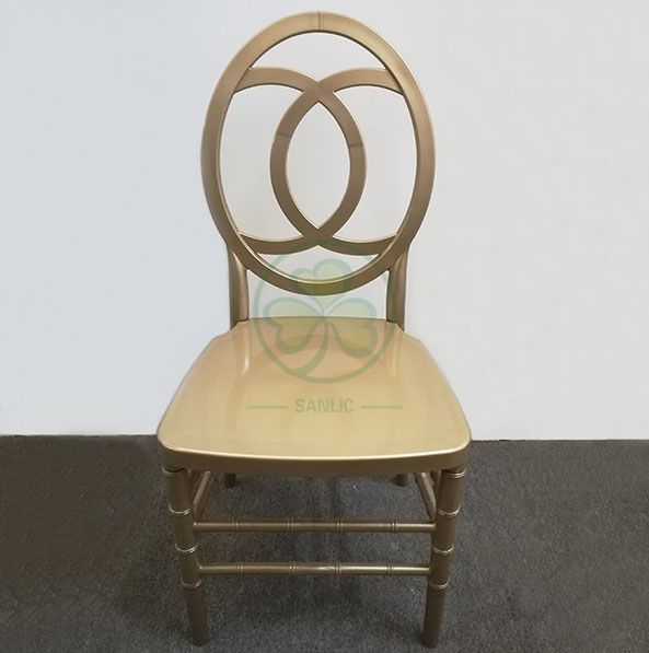 Hot Sale Resin Phoenix Wedding Chair with Channel Back SL-R2022BRPC