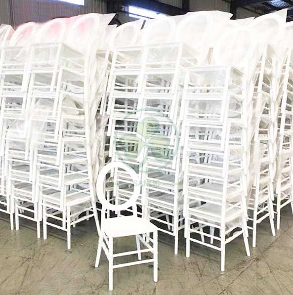 Wholesale Oval Open Back Resin Chair for Outdoor or Indoor Events or Parties SL-R2060OBRC