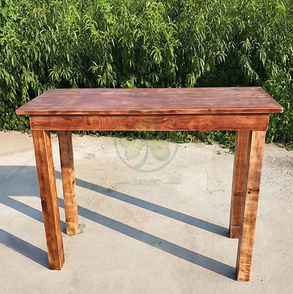 Wholesale Rustic Farmhouse Bar Table Counter Height Farmhouse Table  SL-T2105CHFT