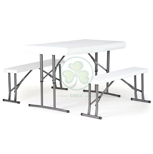 Wholesale Plastic Folding Beer Table for Outdoor or Indoor Events and Catering Services  SL-T2152PFBT