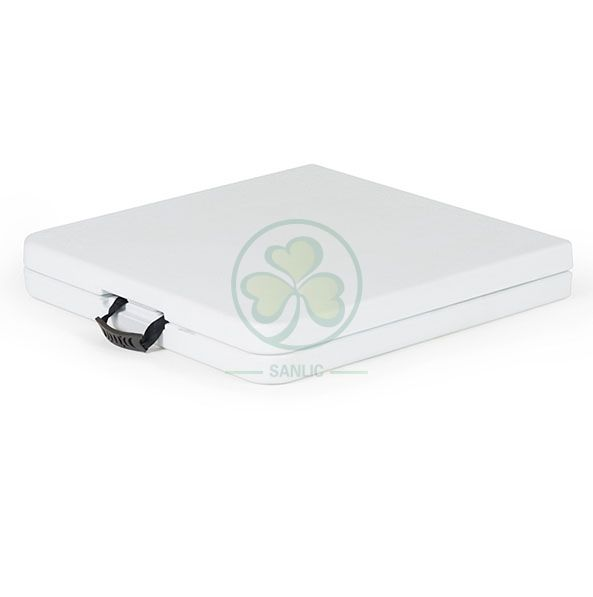 4ft Plastic Rectangular Fold-In-Half Table for Banquets or Catering Services  SL-T2160FIHT