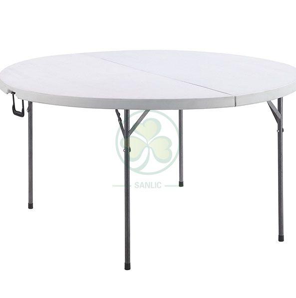 Popular 4ft Round Fold-In-Half Banquet Table SL-T2168RFIT