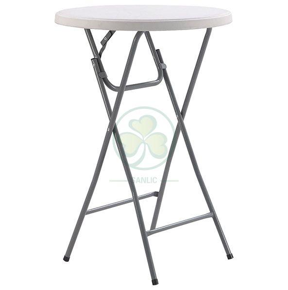 Wholesale Portable High Boy Table Plastic Folding Bar Table  SL-T2170SAHT