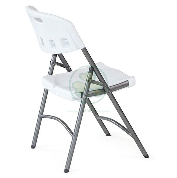Wholesale Portable Blow-Molded Plastic Folding Chair (TUBE DIA25 A) for   SL-T2175HPFC