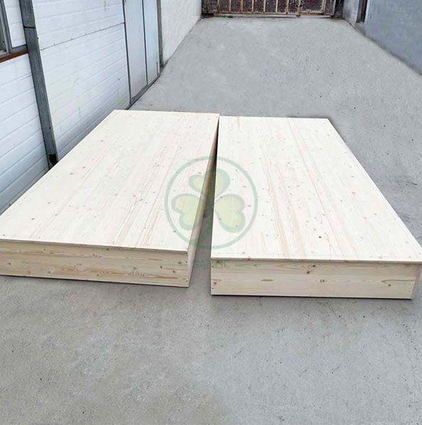 Custom Wood Wedding Stage Decoration Stand for Wedding Ceremony SL-S2221CWWS